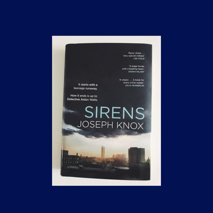 BOOK REVIEW: JOSEPH KNOX –SIRENS