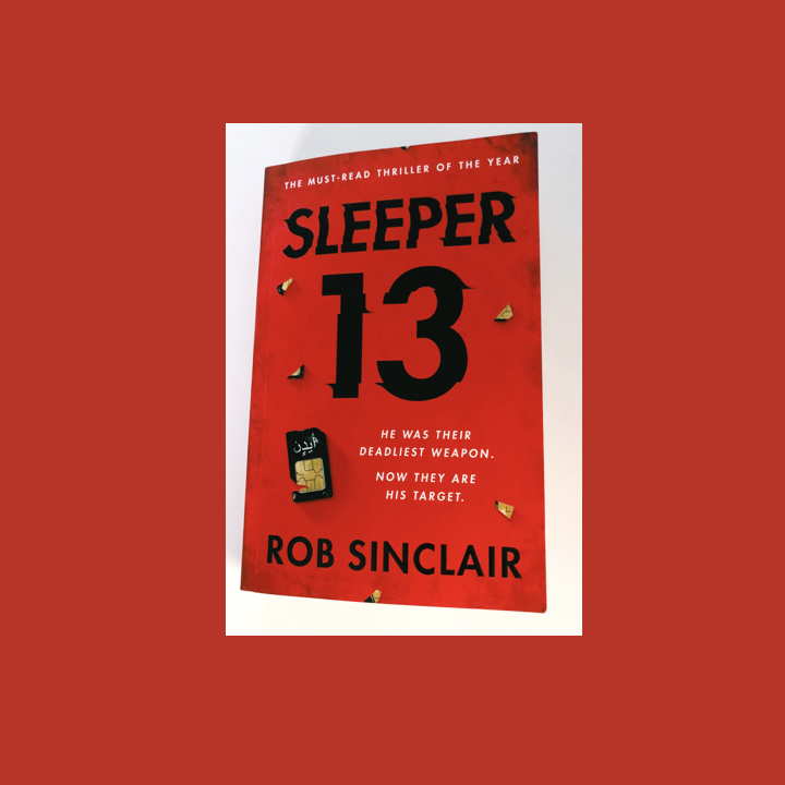 BOOK BLOG TOUR / BOOK REVIEW: ROB SINCLAIR – SLEEPER 13