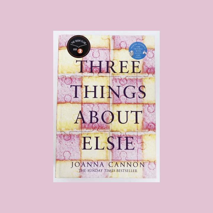 BOOK REVIEW: JOANNA CANNON – THREE THINGS ABOUT ELSIE