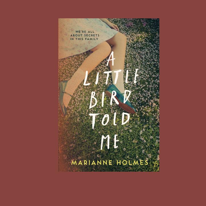 BOOK BLOG TOUR: MARIANNE HOLMES – A LITTLE BIRD TOLDME