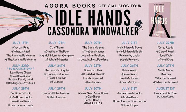 Idle Hands Blog Tour Image